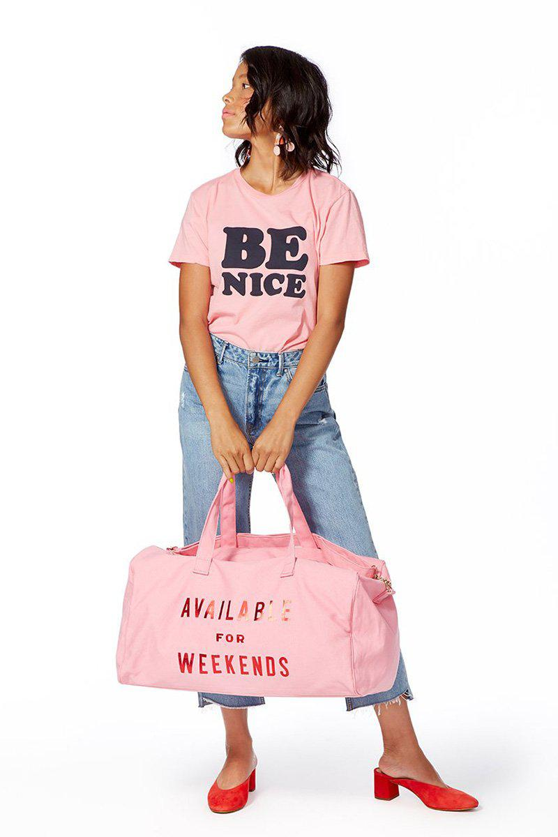 5afd2e9b520 Ban.do - Pink Available For Weekends Getaway Duffle - Lyst. View fullscreen