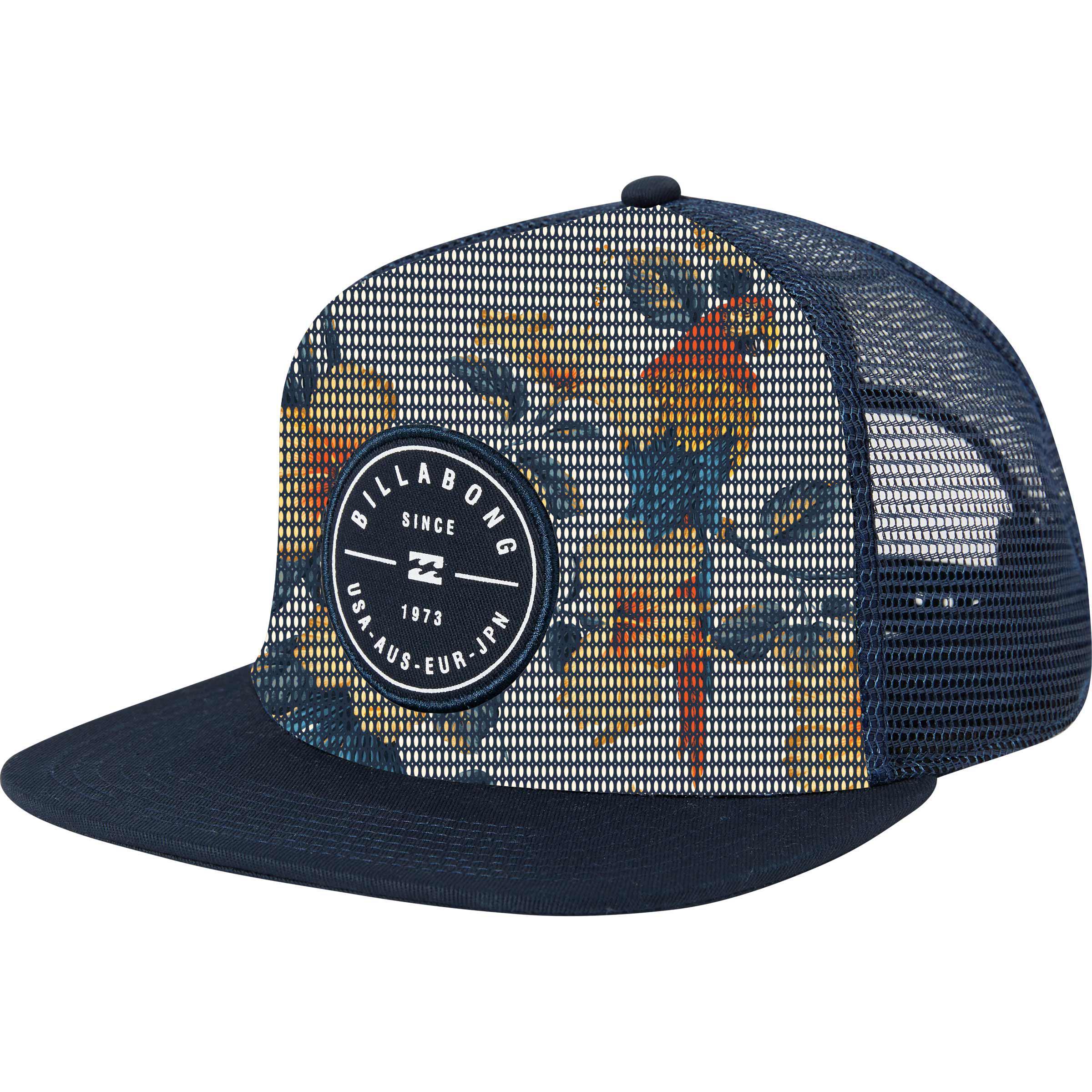 7fa68bc87f549 Billabong Rotor Trucker Hat in Blue for Men - Lyst