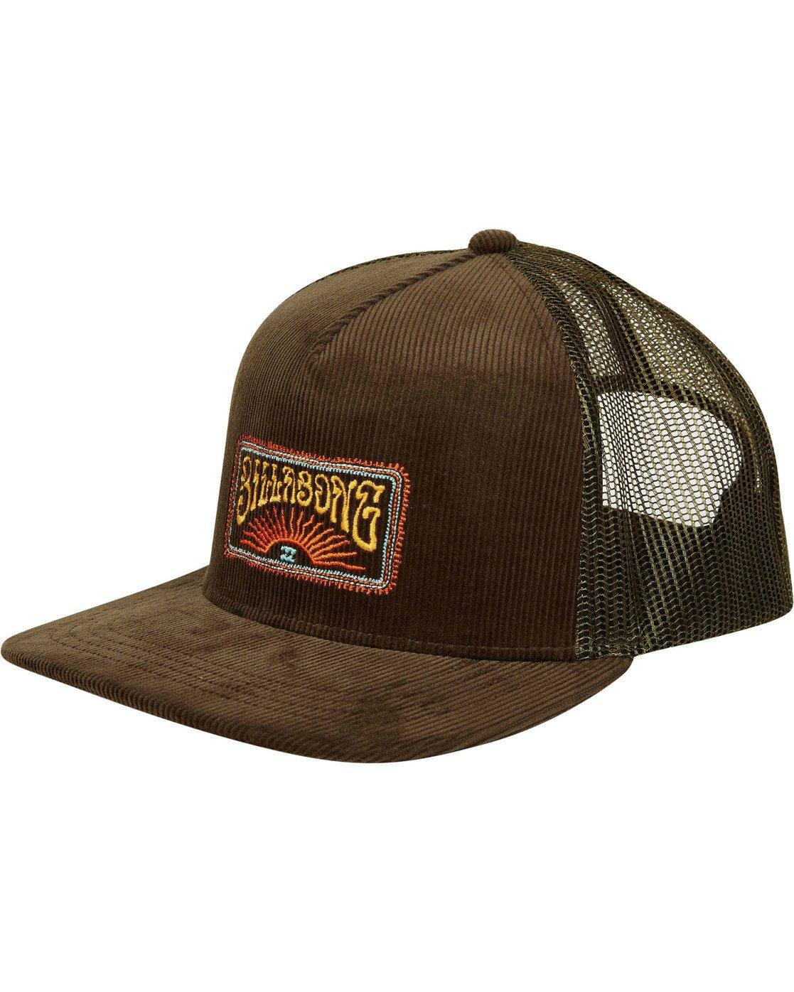 dc42e949 Lyst - Billabong Flatwall Trucker Hat in Brown for Men