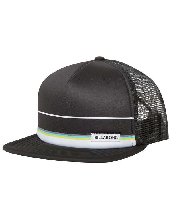 05fe75bd180 Billabong - Black Spinner Trucker Hat for Men - Lyst. View fullscreen