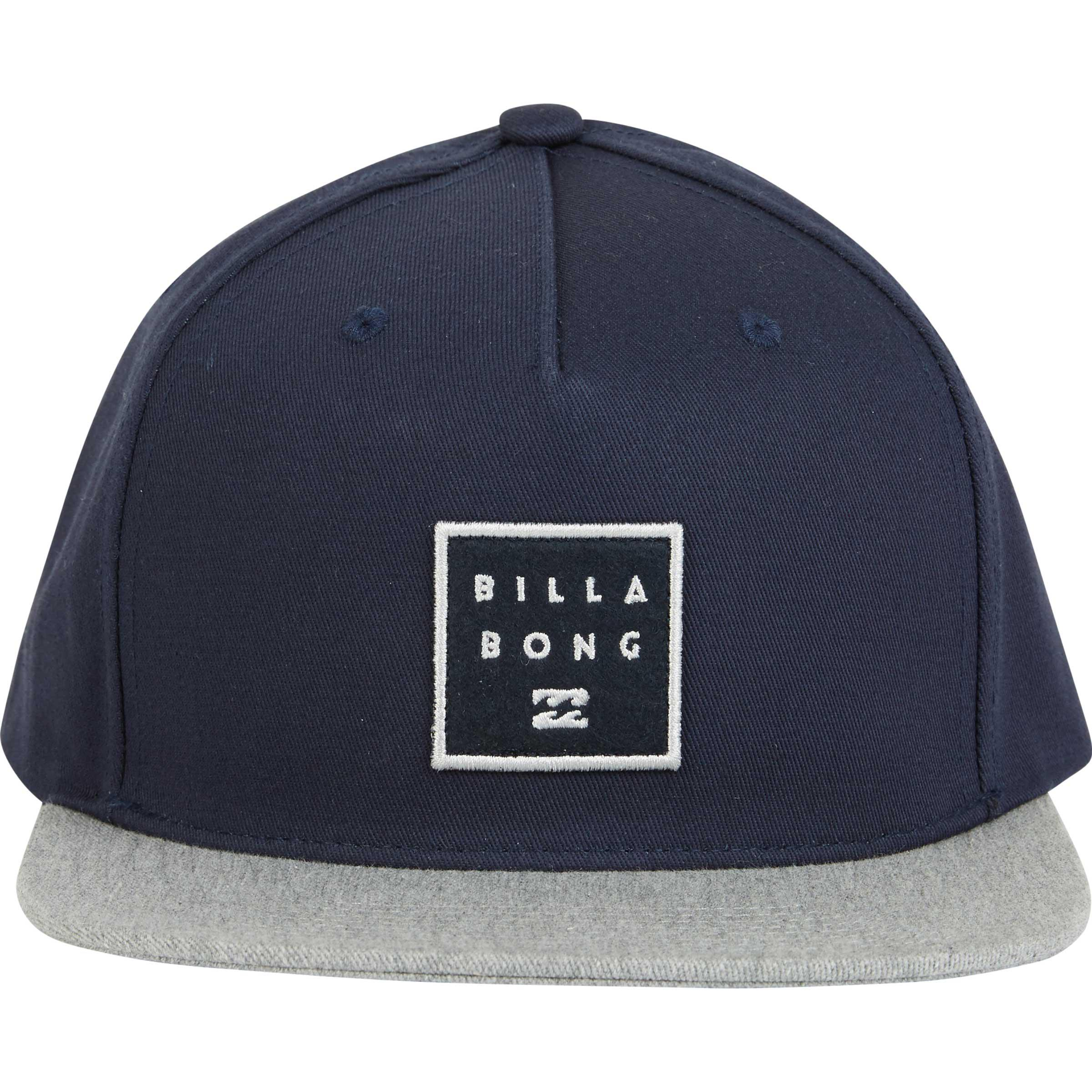 0b003307f63 Lyst billabong stacked snapback hat in blue for men jpg 2400x2400 Stacked  hats snap backs