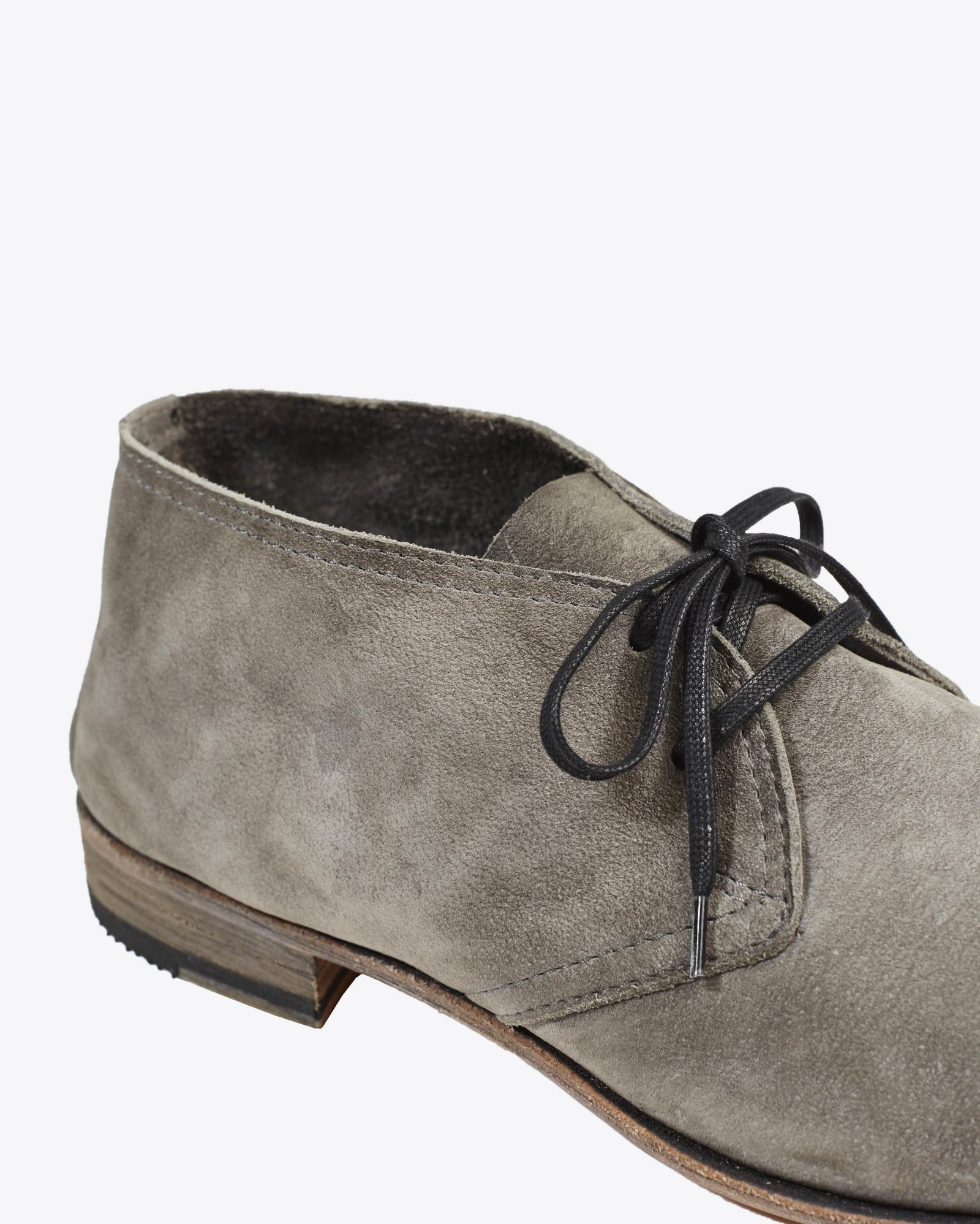 Lyst Billy Reid Crosby Shoe In Gray For Men
