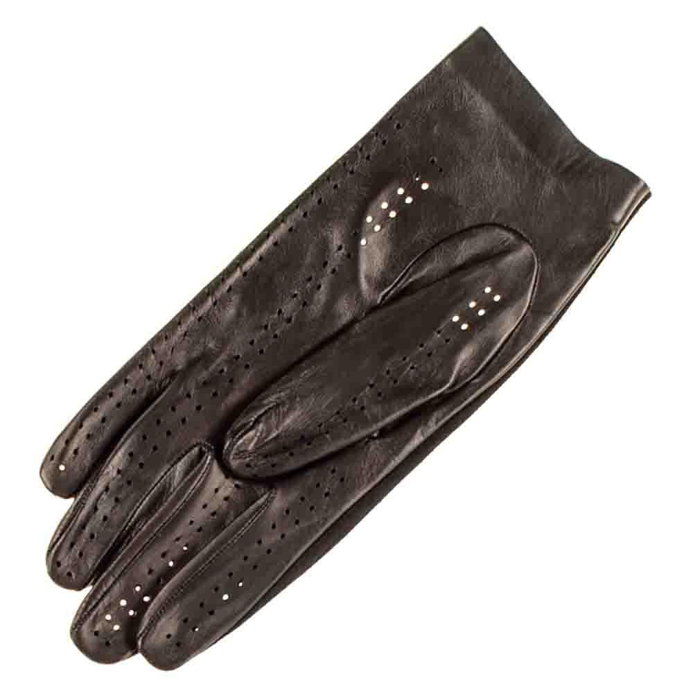 7ef911d67f9a ... Ladies Black Suede And Leather Driving Gloves - Lyst. View fullscreen