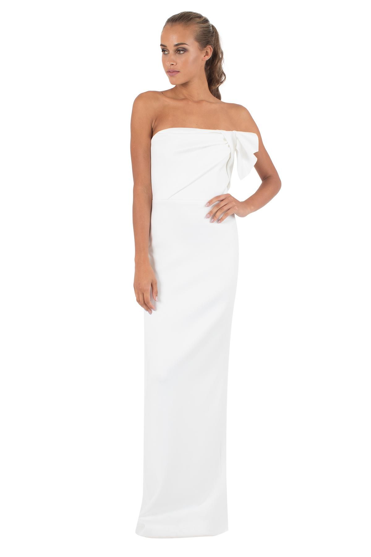 Lyst - Black Halo Divina Gown in White
