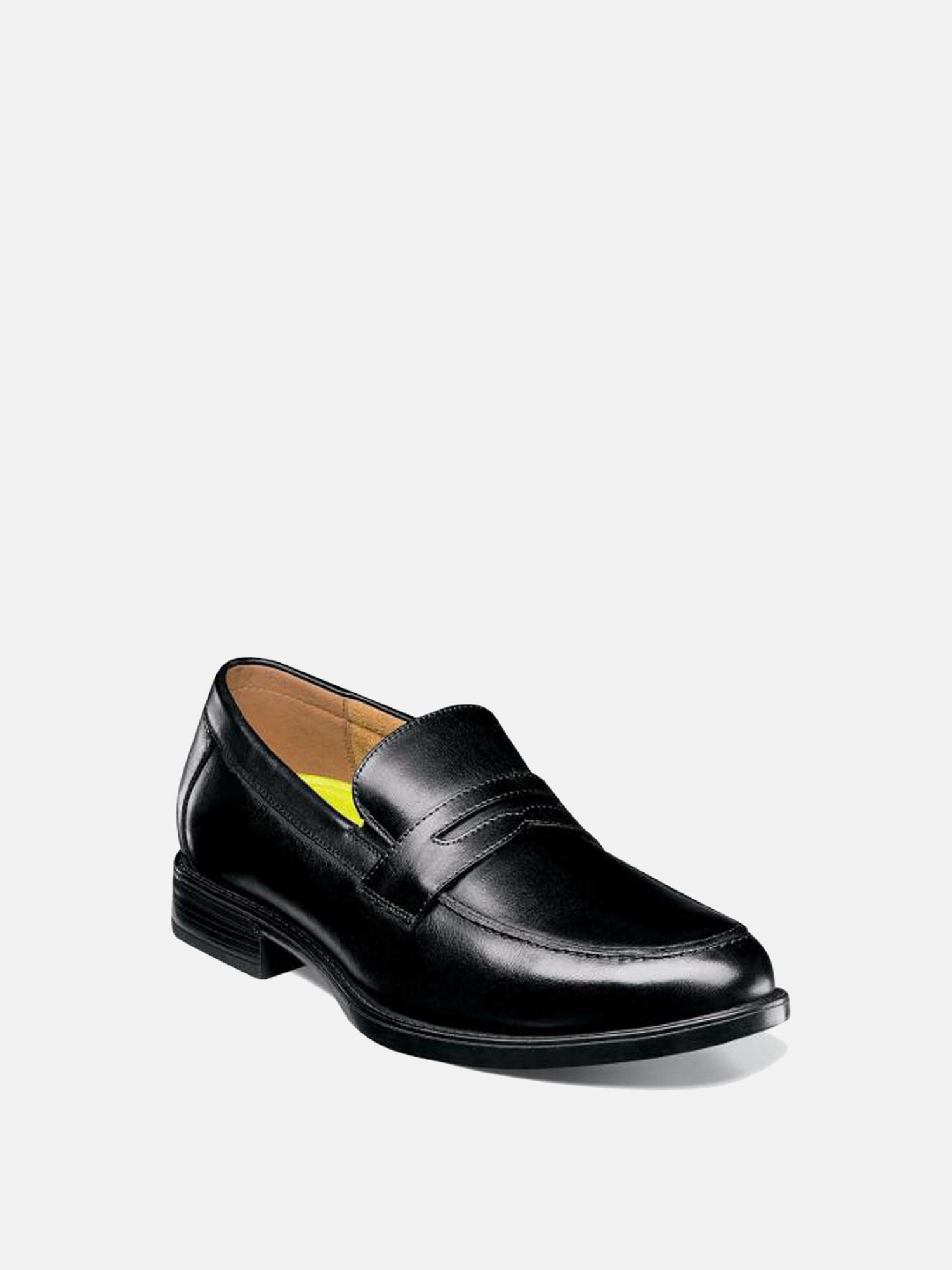 42be816ed16 Lyst - Florsheim Midtown Moc Toe Penny Loafer in Black for Men