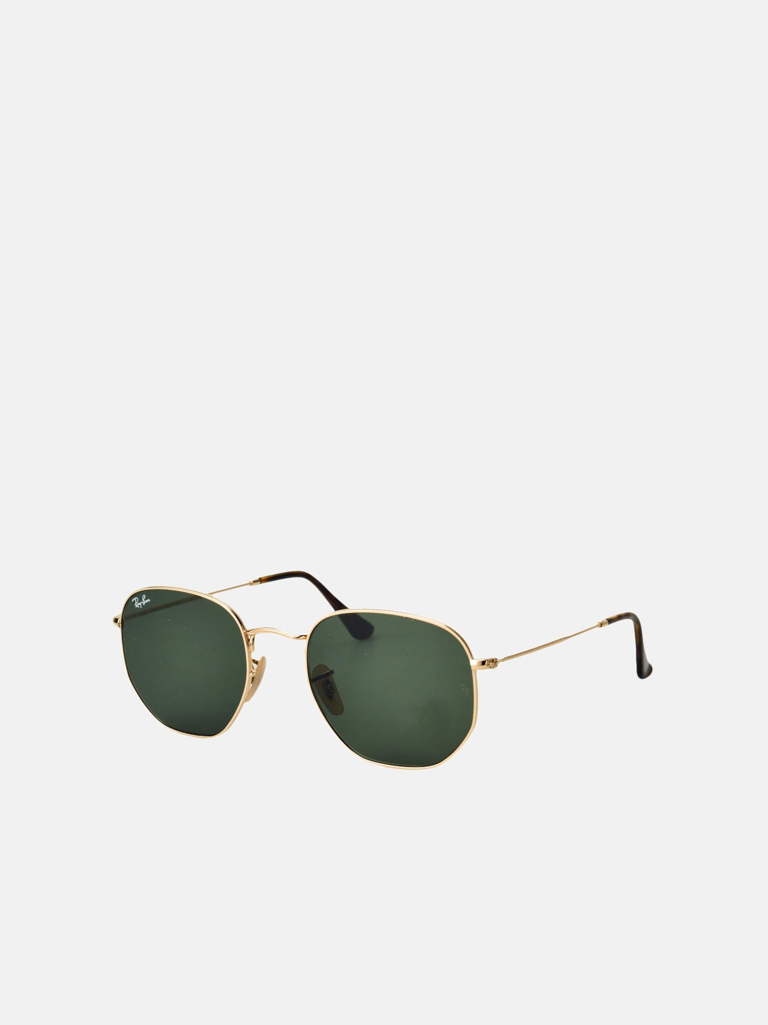 4070cc2a16 Lyst - Ray-Ban Rb 3548n 001 Gold green Classic G-15 54 Size in Green ...