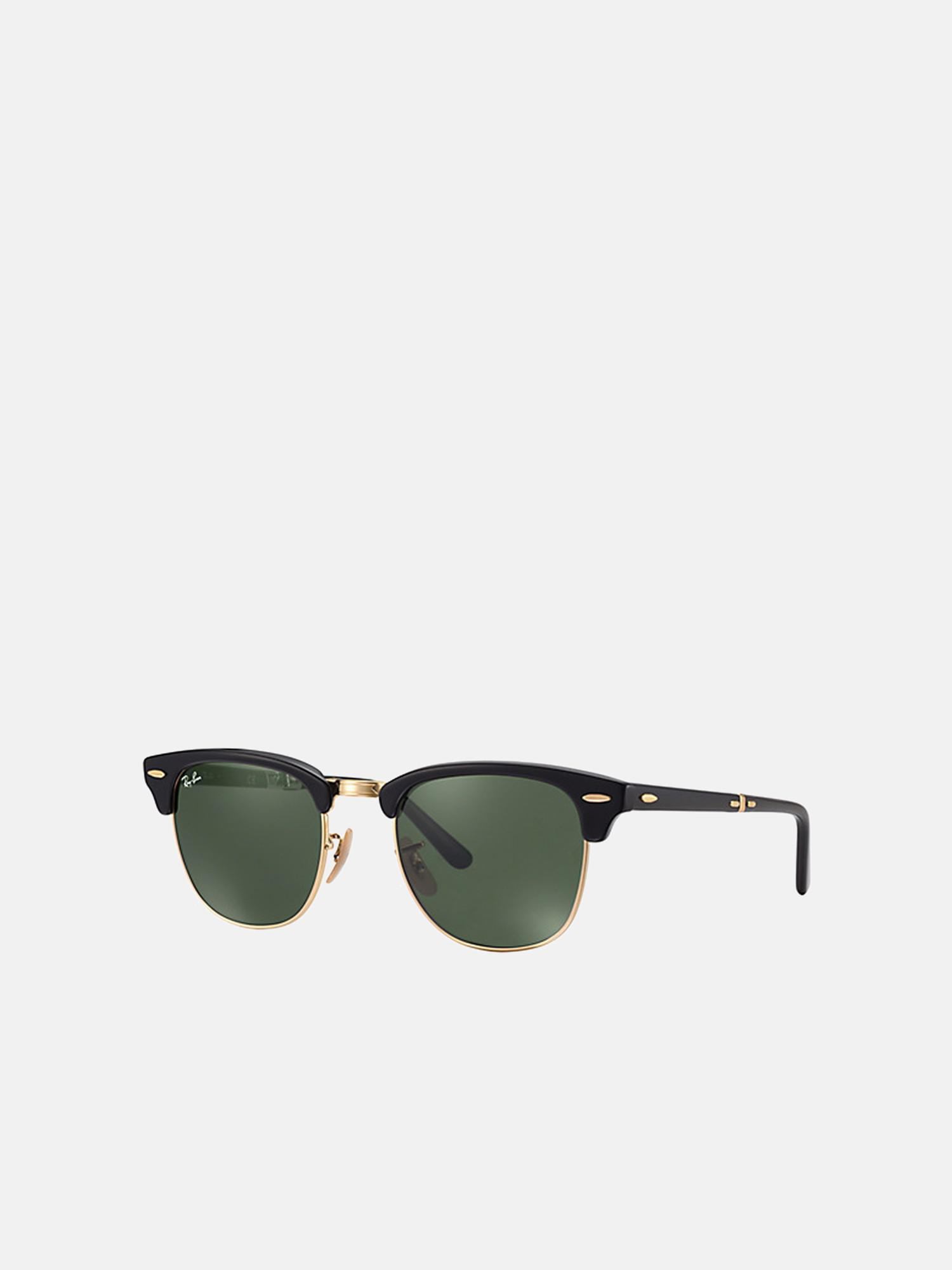 0207dfd7c7 Lyst - Ray-Ban Clubmaster Folding rb2176 901 51 in Green for Men ...