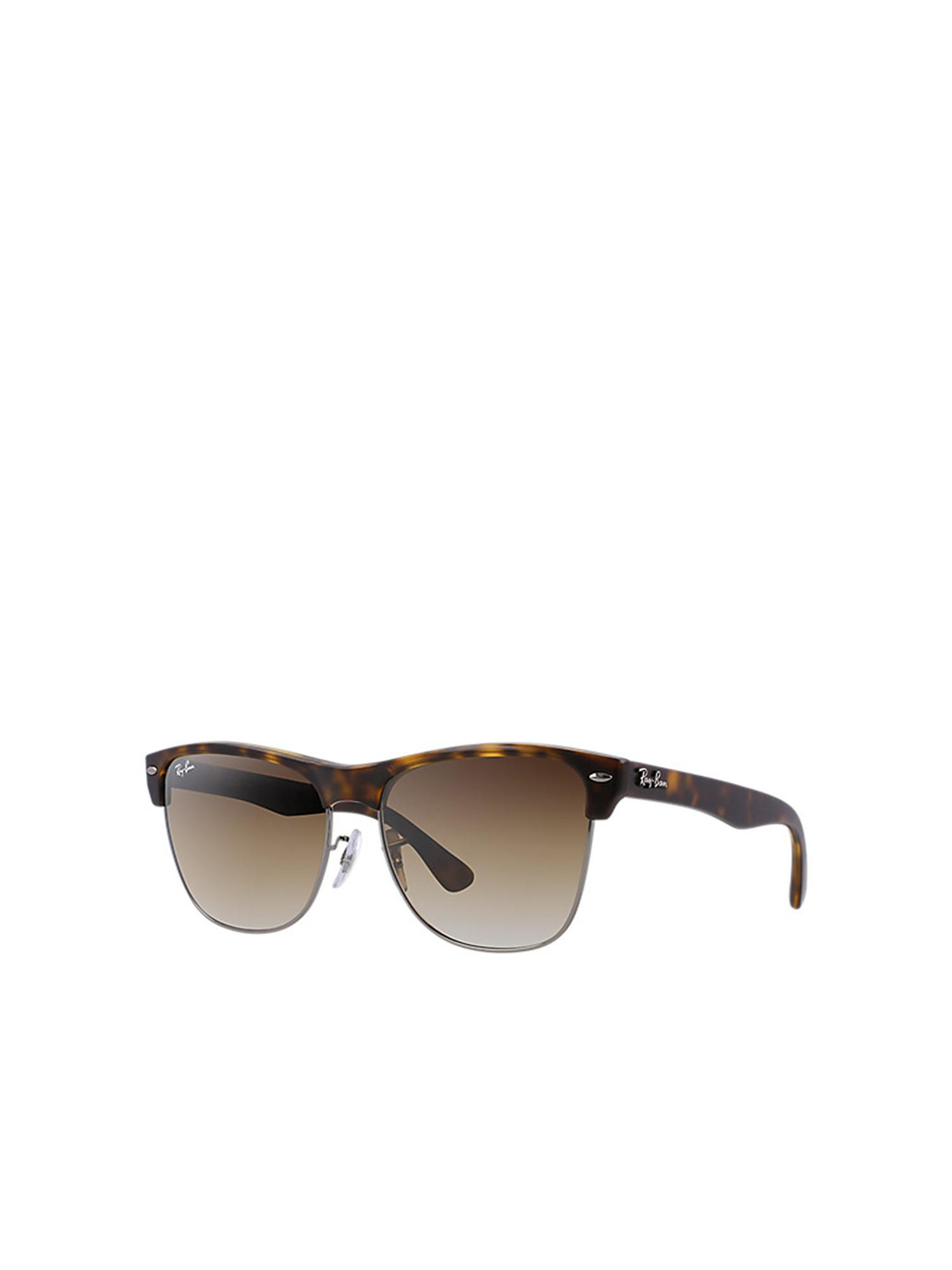 a3e582b0ddf Ray-Ban - Brown Clubmaster Oversized rb4175 878 51 57 for Men - Lyst. View  fullscreen