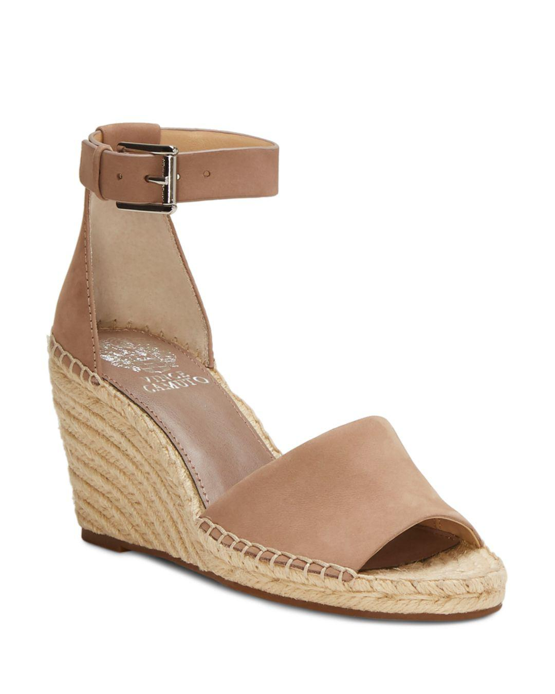 aba348a795ff Lyst - Vince Camuto Women s Leera Suede Espadrille Wedge Sandals in ...