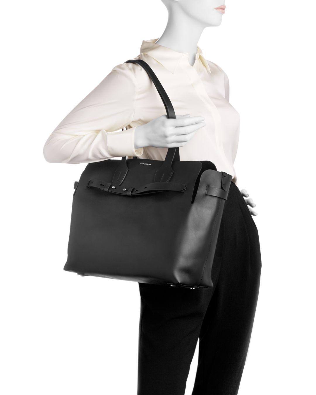 6dba05d232b Femmes Burberry The Large Soft Leather Belt Bag en ligne