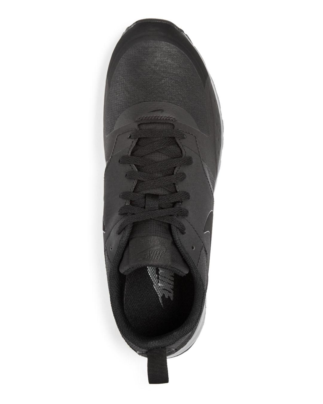 615e1dfd7ef Lyst - Nike Men s Air Max Vision Premium Lace Up Sneakers in Black ...