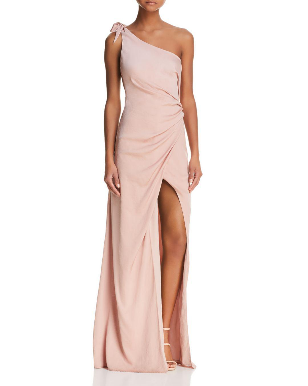 87624de74c5 StyleStalker Jordana One-shoulder Gown in Pink - Lyst