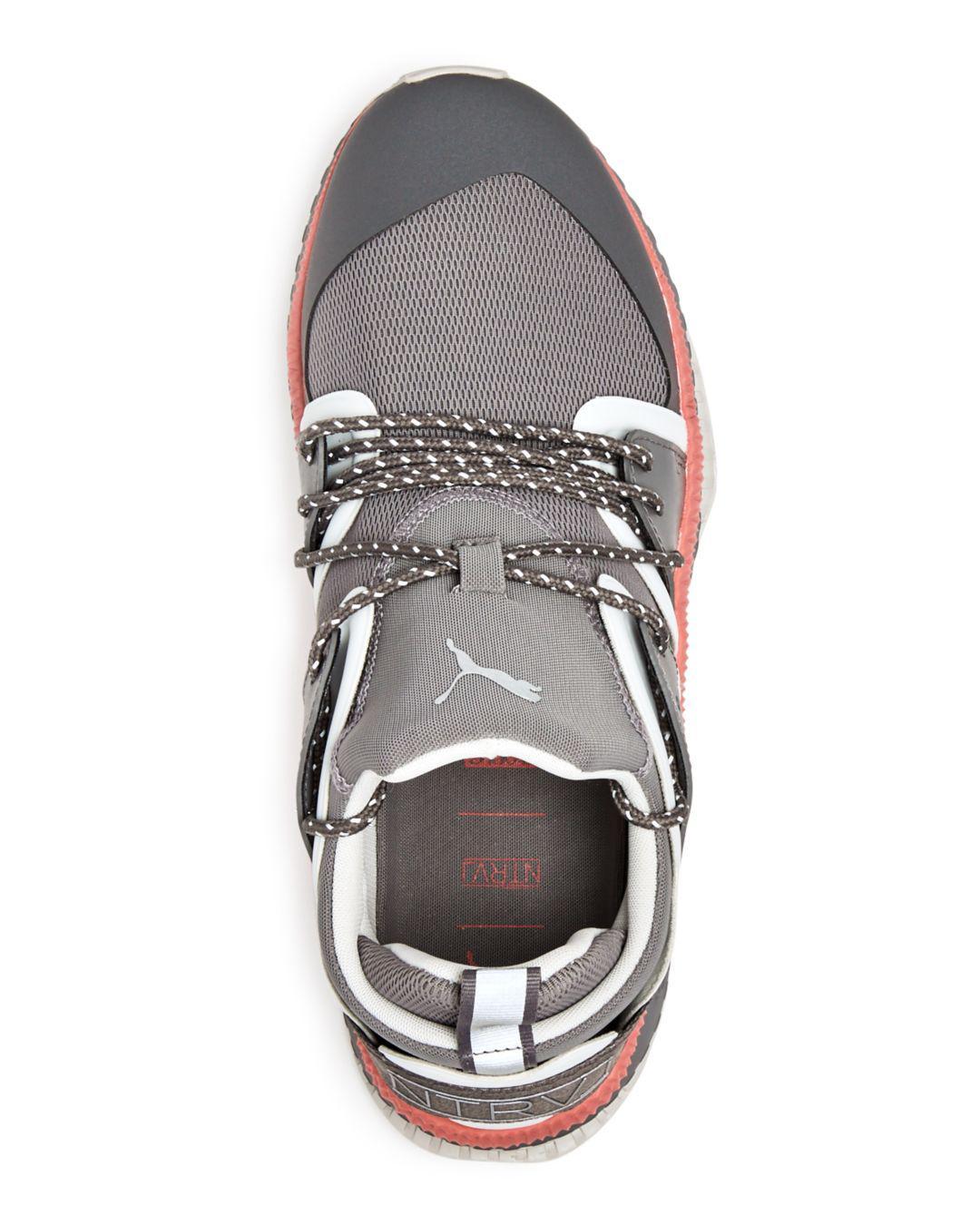 a30cd5159fdd Puma Men s Tsugi Blaze Staple Lace Up Sneakers in Gray for Men - Lyst
