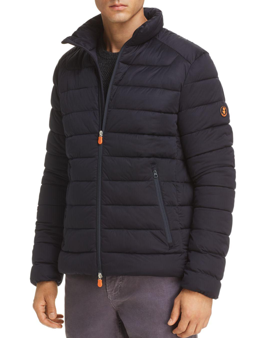 f6315624fbf Quilted Jacket Men Packable Duck In Lyst For Puffer Blue Save The wpFqt