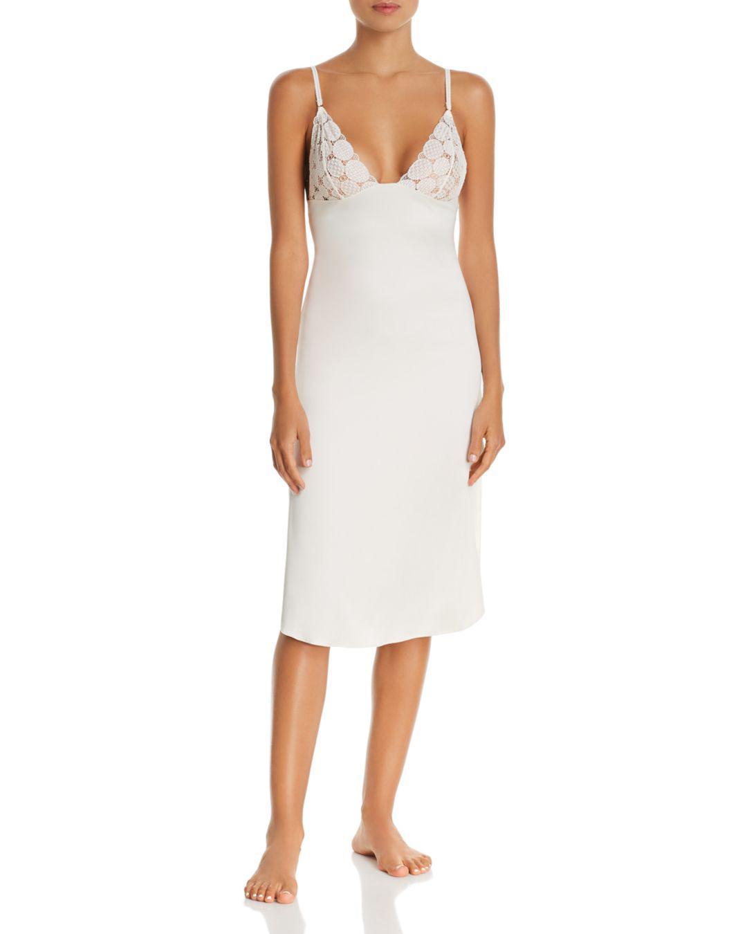 e56a8d45a4 Lyst - Heidi Klum Olivia Dawn Chemise in White