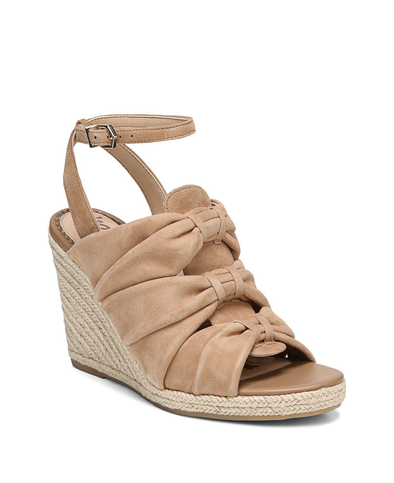Sam Edelman Women's Awan Suede Espadrille Wedge Sandals lPw5pYu
