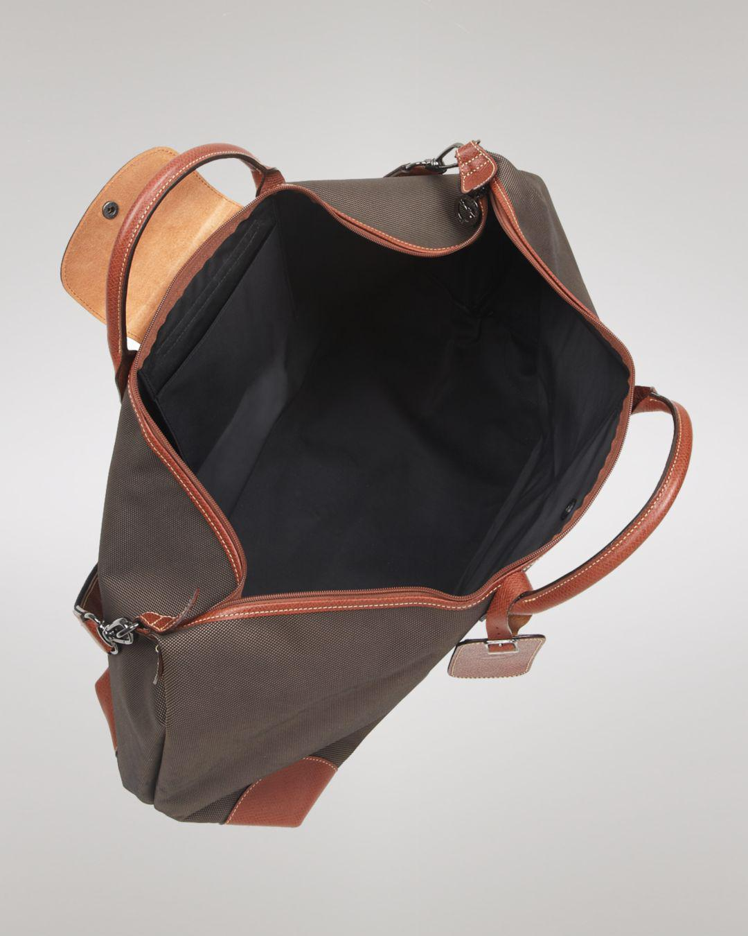 Lyst - Longchamp Boxford Extra Large Duffel Bag in Brown for Men 02e758f50cf0f