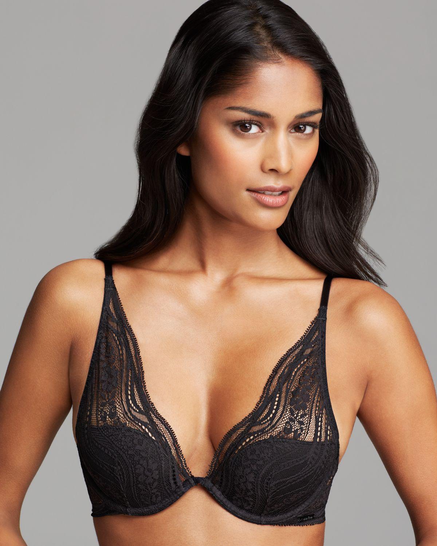 Lyst - Calvin Klein Underwear Bra - Infinite Lace Convertible ... dde450d8d