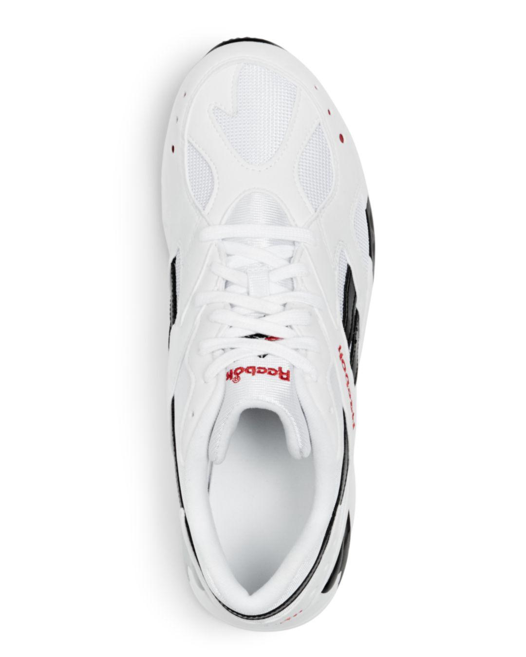 4580df0d3cb Lyst - Reebok Men s Aztrek Lace-up Sneakers in White for Men