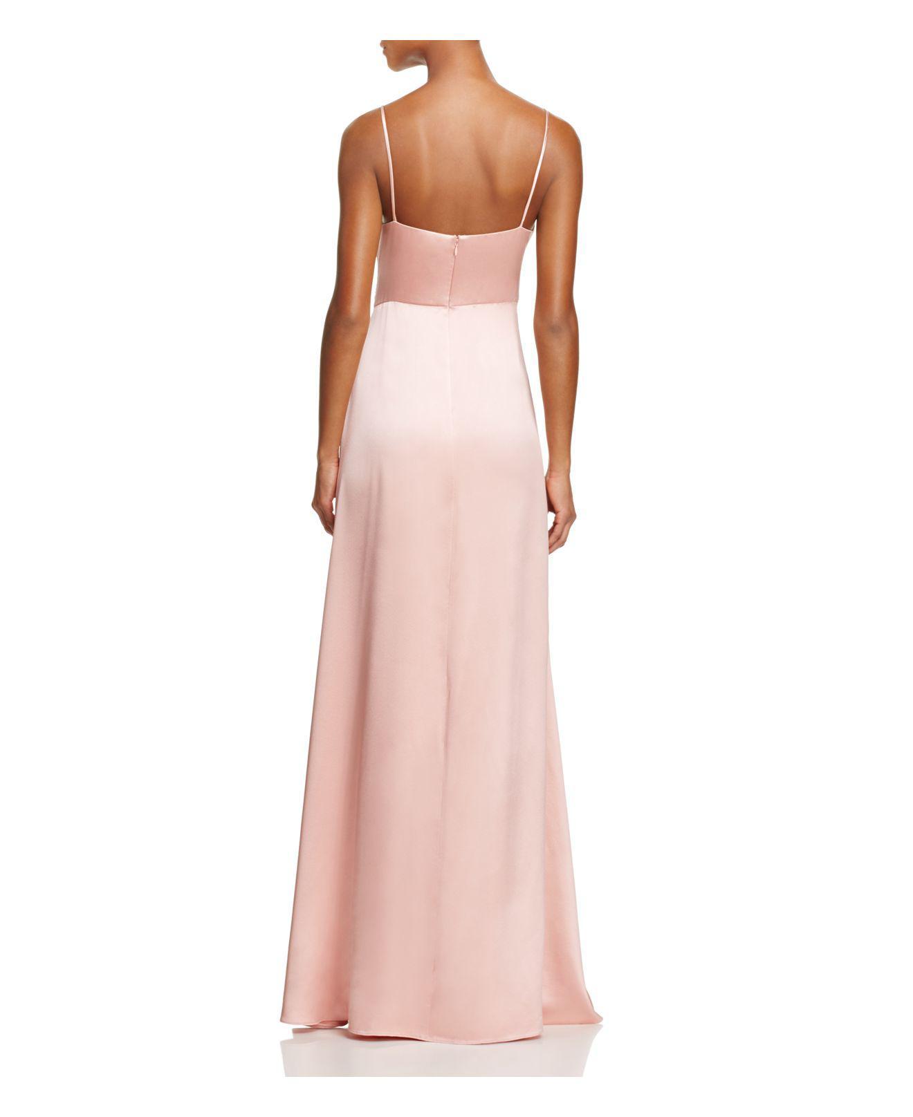 Lyst Jill Jill Stuart Crossover Slip Gown