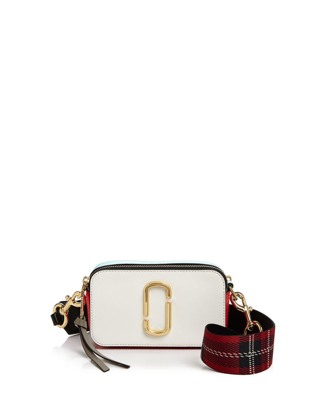 9bc9e2f12359 Lyst - Marc Jacobs Snapshot Leather Camera Bag - Save 20%