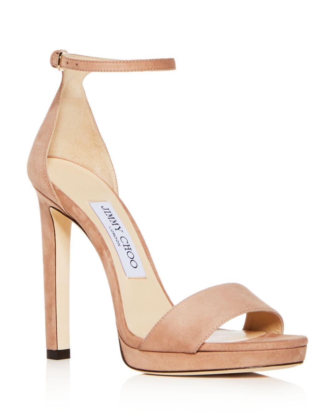 46b27cdd6b5 Jimmy Choo - Multicolor Women s Misty 120 Suede High-heel Platform Sandals  - Lyst. View fullscreen