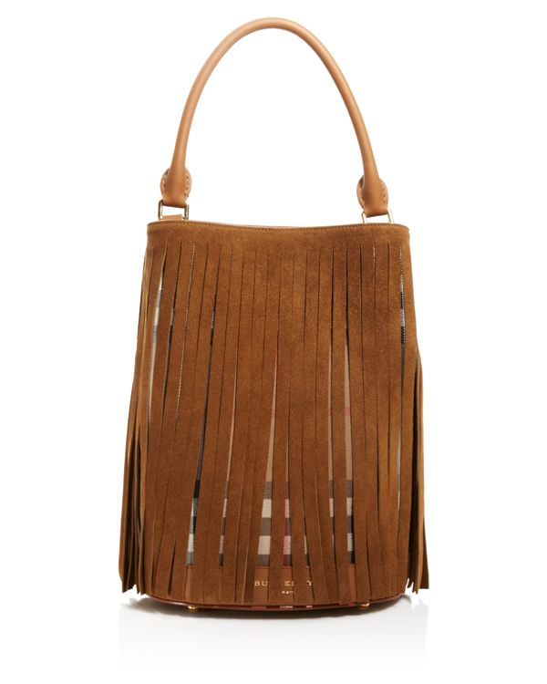 253b2d22043a Gallery. Previously sold at  Bloomingdale s · Women s Fringed Bags Women s Burberry  House ...