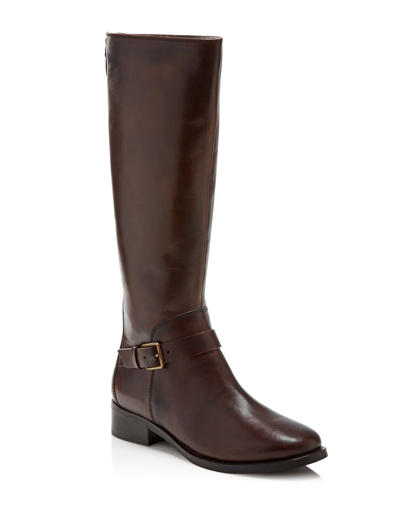 cole haan sonna boots in brown chestnut lyst