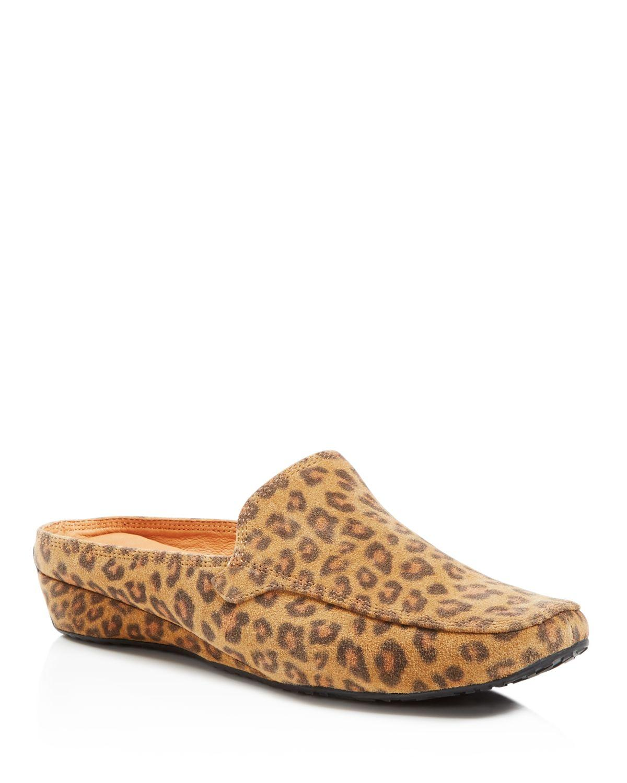 fd3fa3f8a46 Lyst - Gentle Souls Imex Leopard Print Mule Loafers