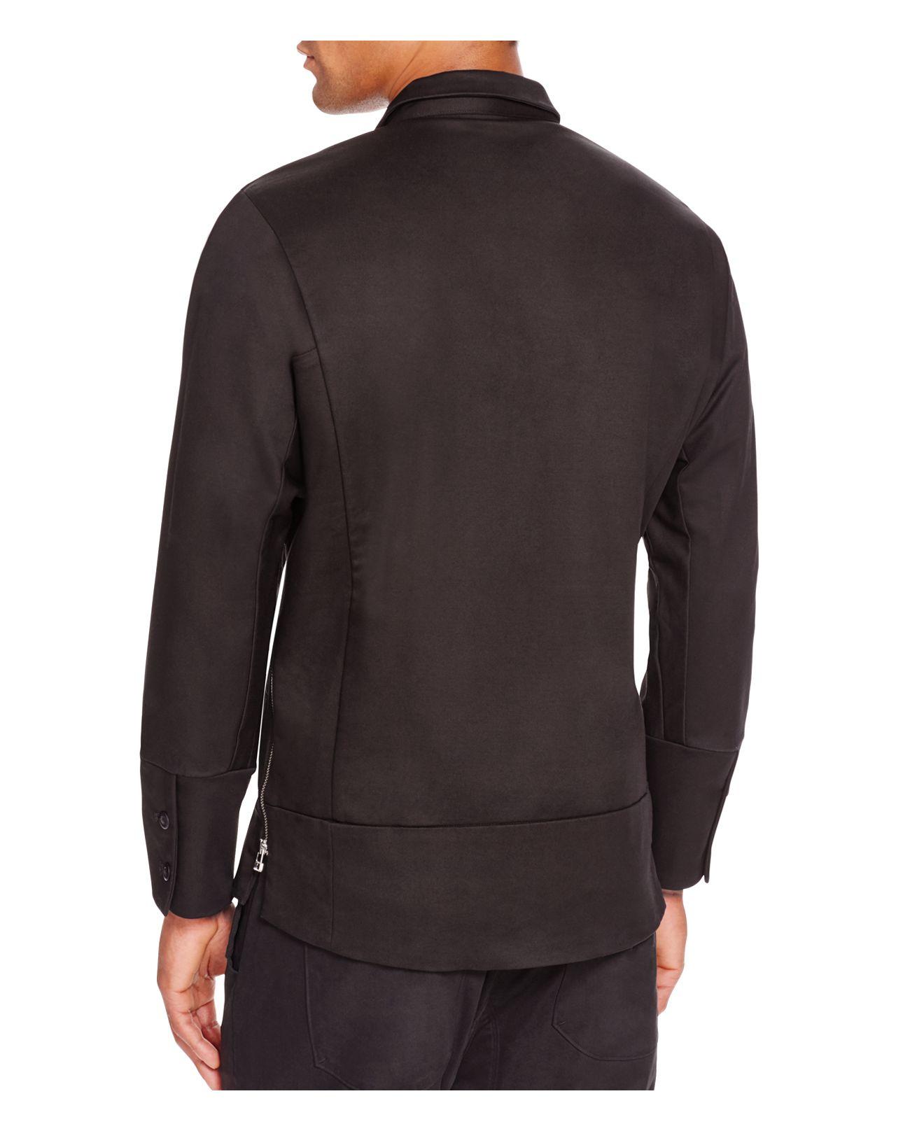 Chapter Despa Zip Jacket In Black For Men | Lyst