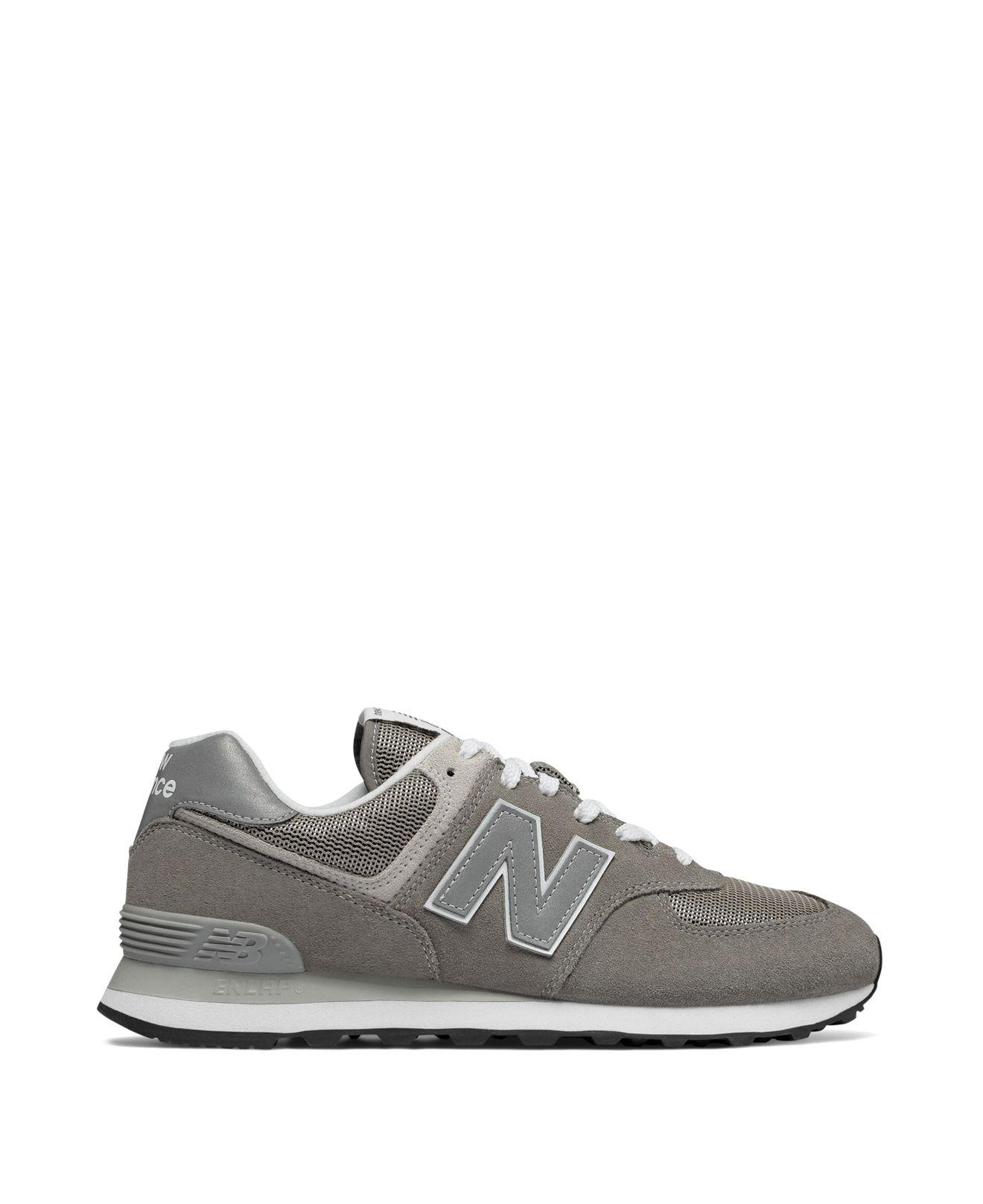 New Balance Men's 574 Classic Suede Lace Up Sneakers