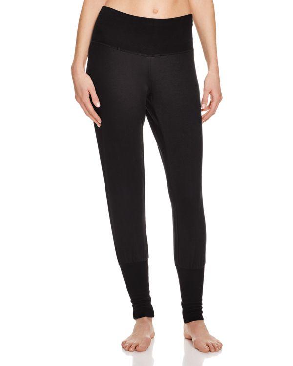 Alo Yoga Revive Knit Pants In Black