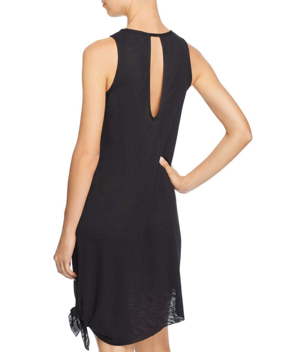19da9a81fa Lyst - Becca Breezy Basics Dress Swim Cover-up in Black