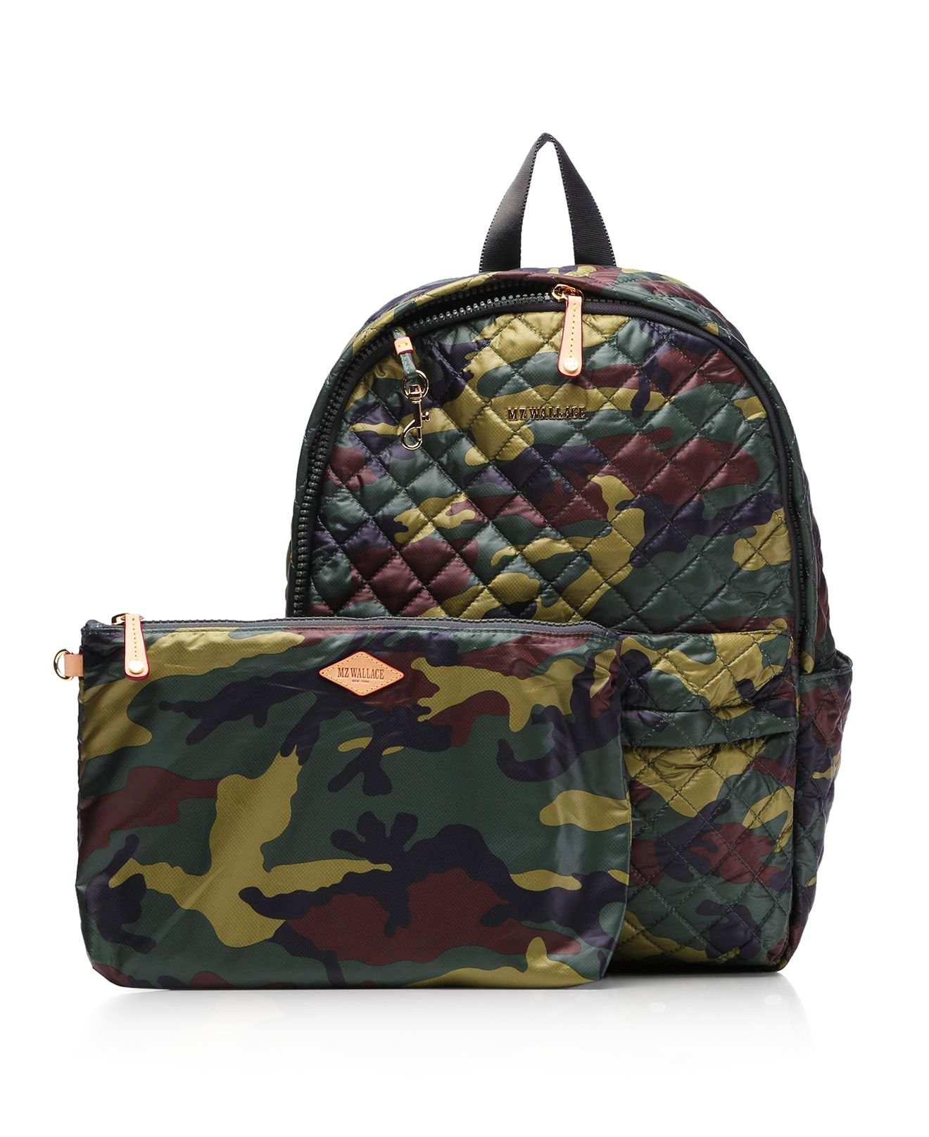 Lyst Mz Wallace Oxford Metro Camo Print Backpack In Green
