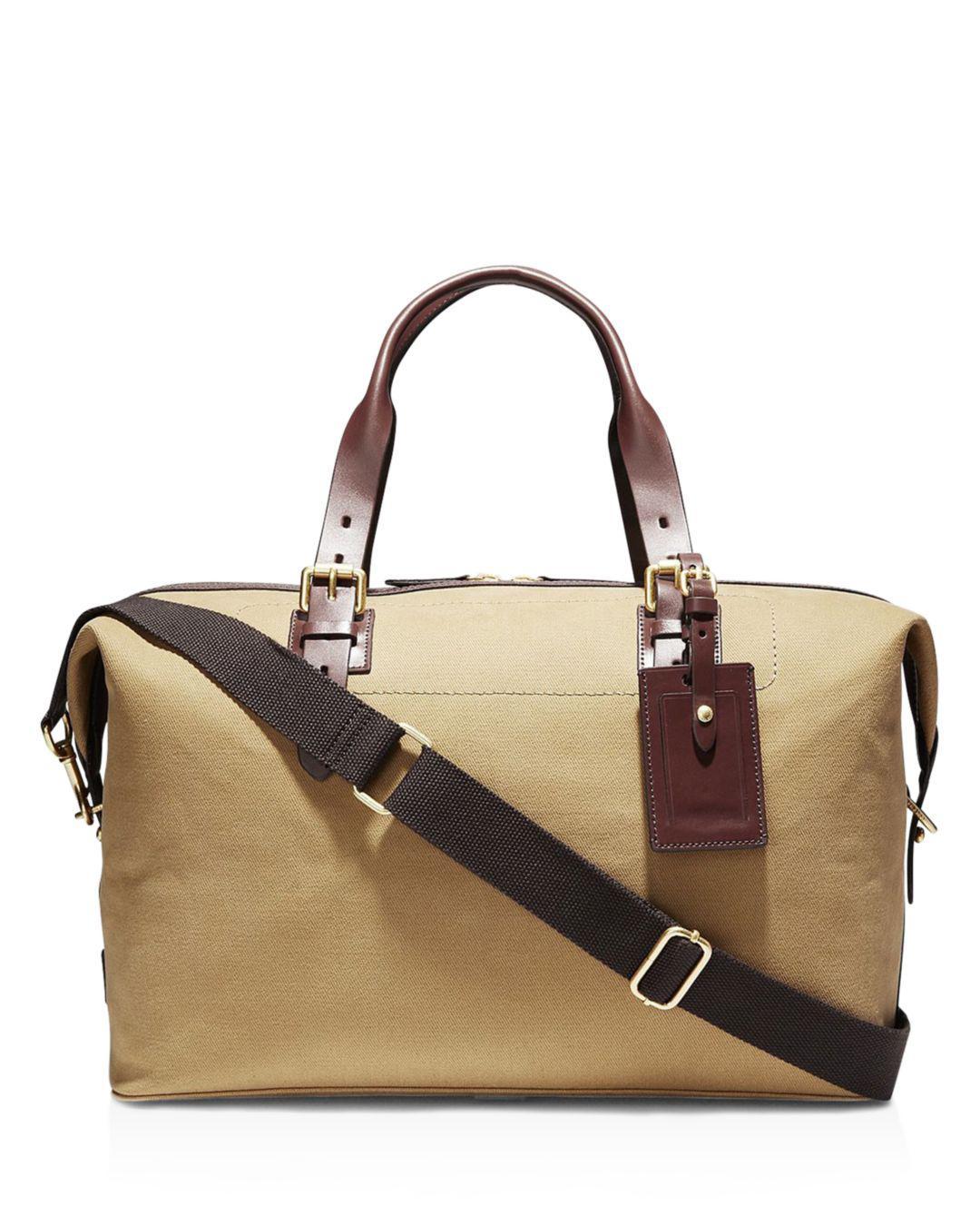 Lyst - Cole Haan Twill Brayton Duffel Bag in Brown for Men 03a0dc1009ec1