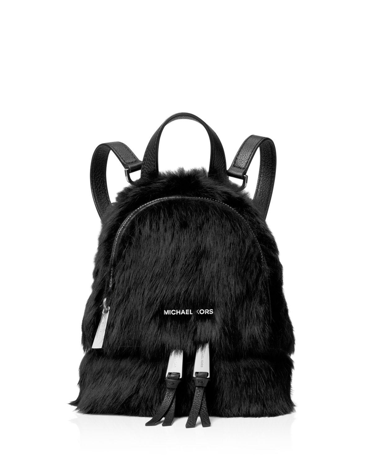 62f1438ba164 Gallery. Previously sold at: Bloomingdale's · Women's Shearling Bags  Women's Michael By Michael Kors Rhea