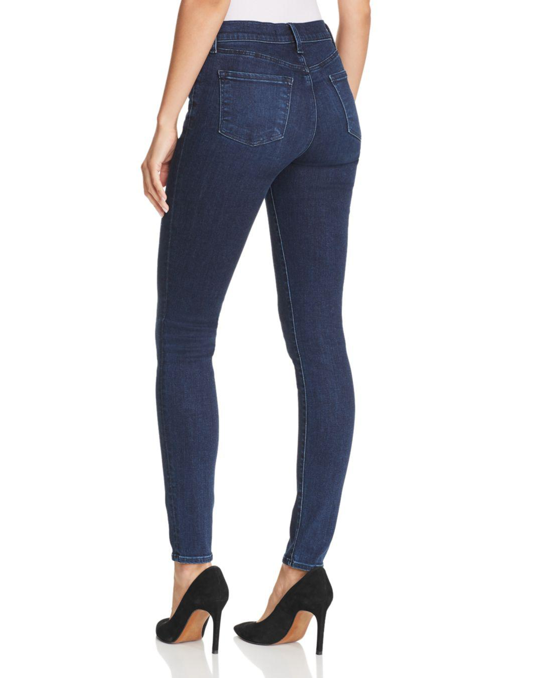 2ea068957c510 J Brand 620 Mid Rise Super Skinny Jeans In Phased in Blue - Save 61% - Lyst