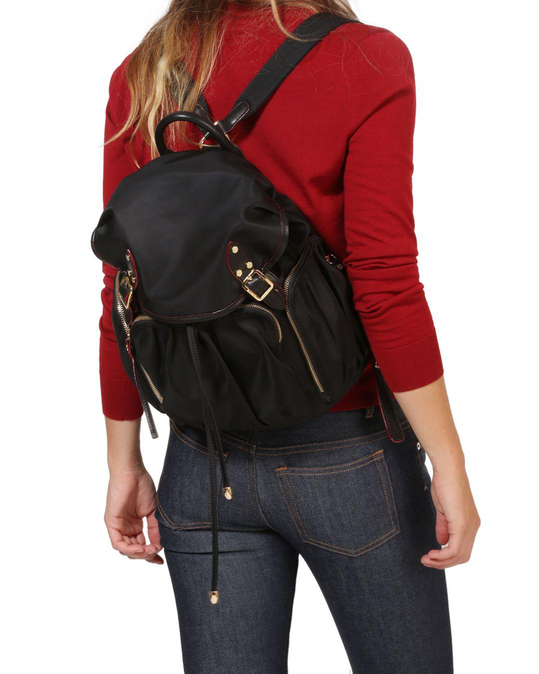 cf25ee7726c Details about NWT 385 MZ WALLACE Marlena Backpack Bag Carmine RED