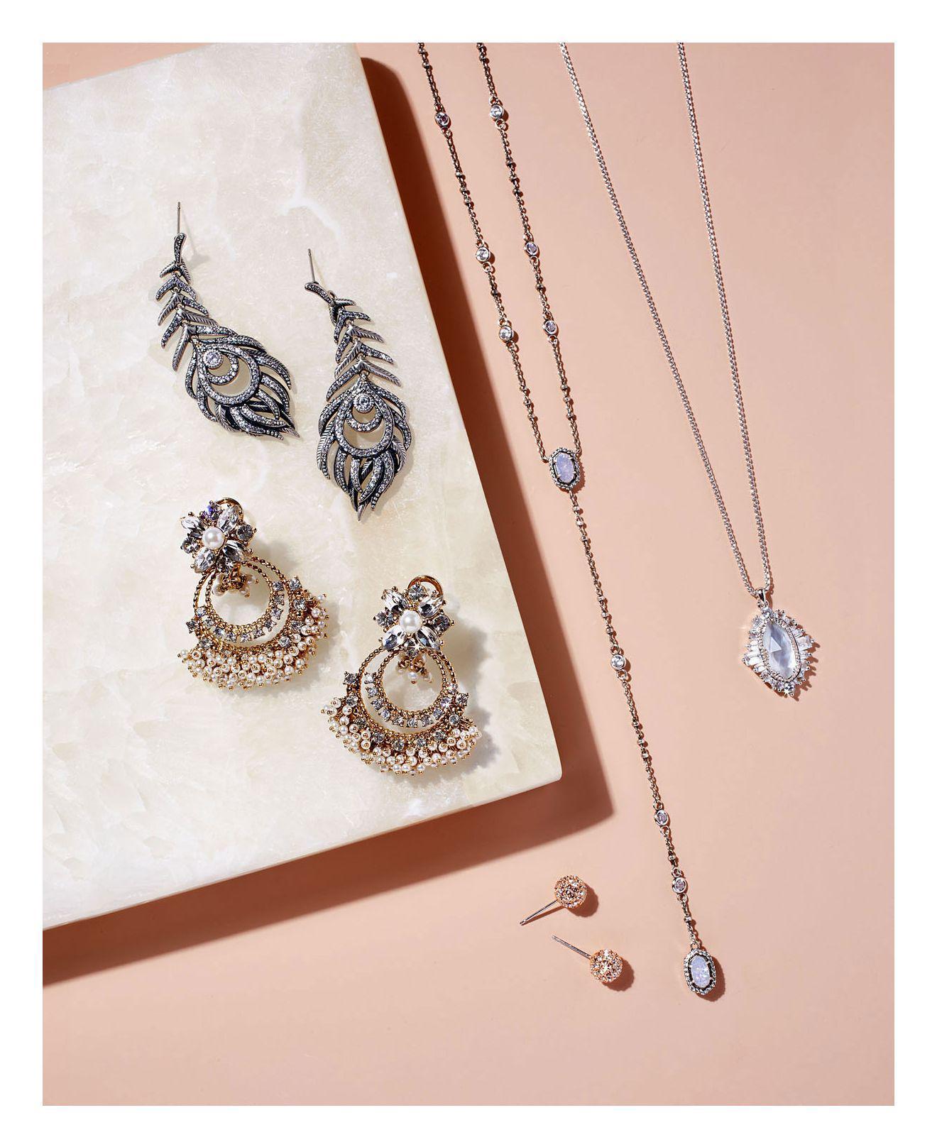 0e5240f09 Lyst - Kendra Scott Elettra Drop Earrings in Metallic