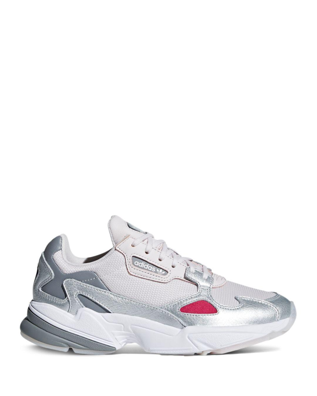 18207848534 adidas Women s Falcon Low-top Dad Sneakers in Blue - Lyst