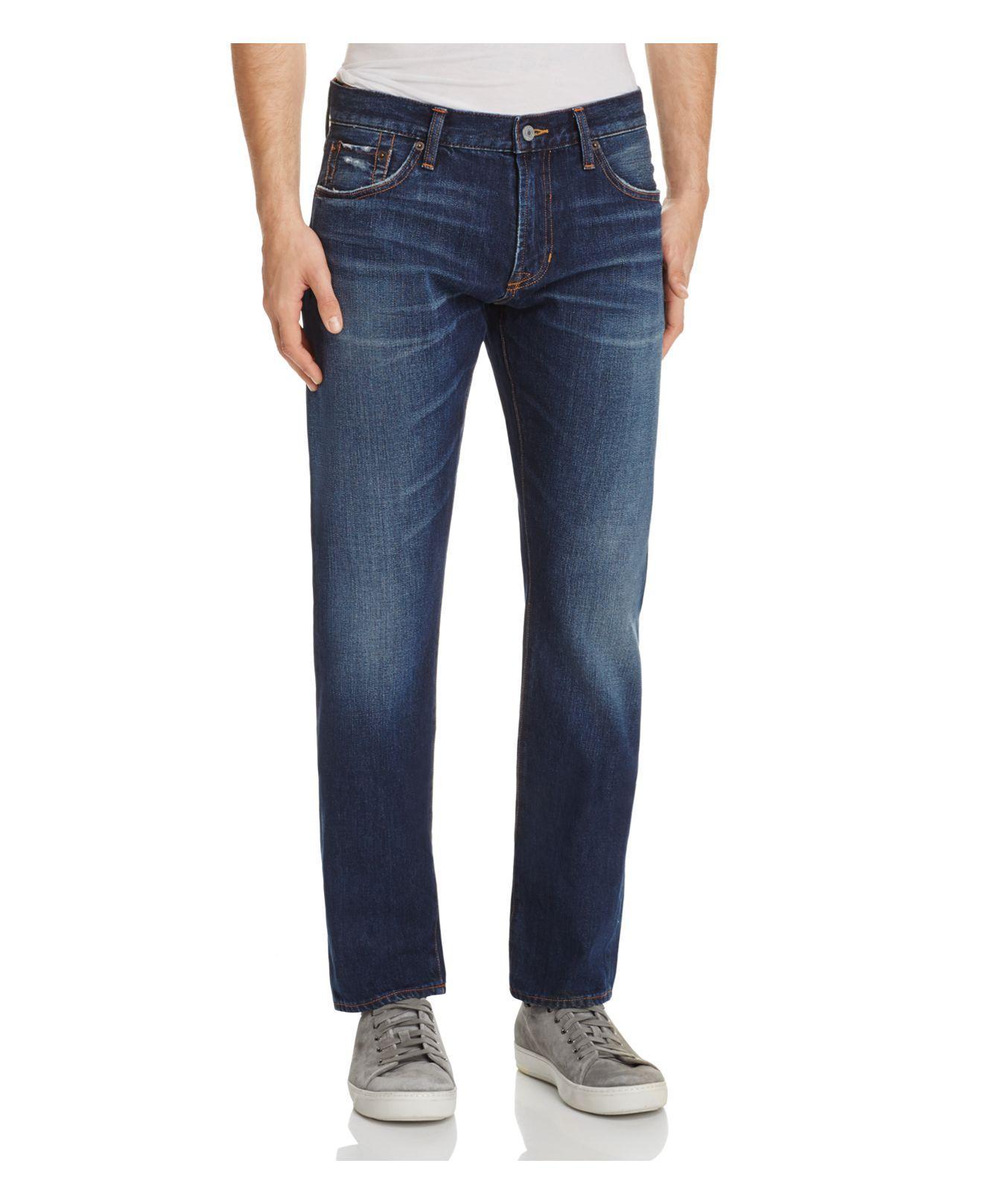 Jean shop Mick Slim Fit Jeans In Moonshadow in Blue for Men | Lyst