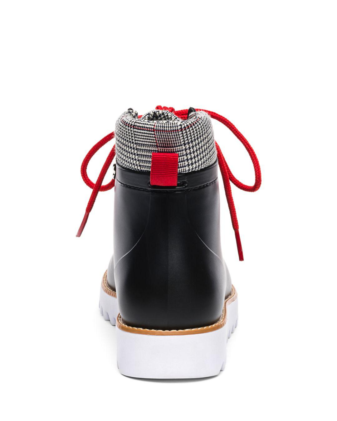 83cab2783b43b9 ... Winnie Lace-up Rubber Rain Boots - Lyst. View fullscreen