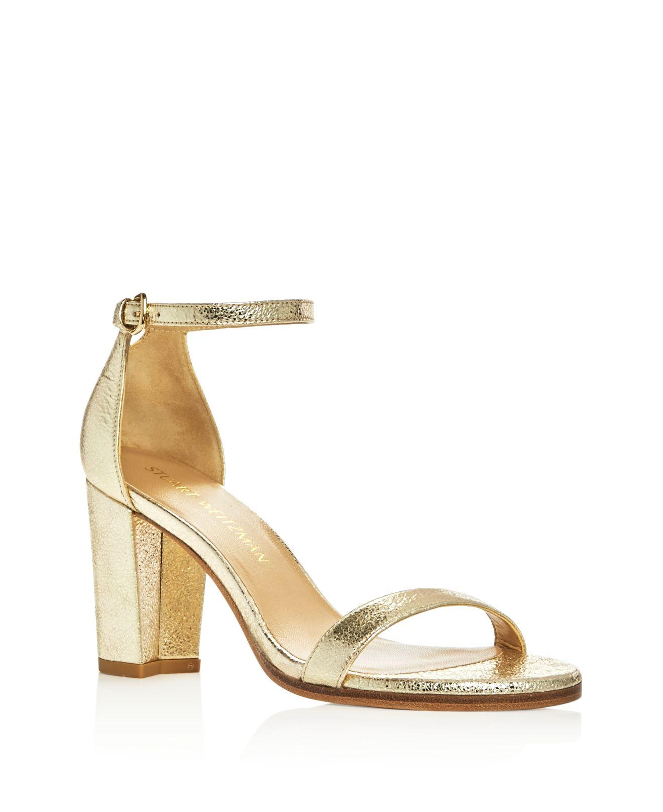 Gianvito Rossi Suede Nude City Sandal in Natural - Lyst