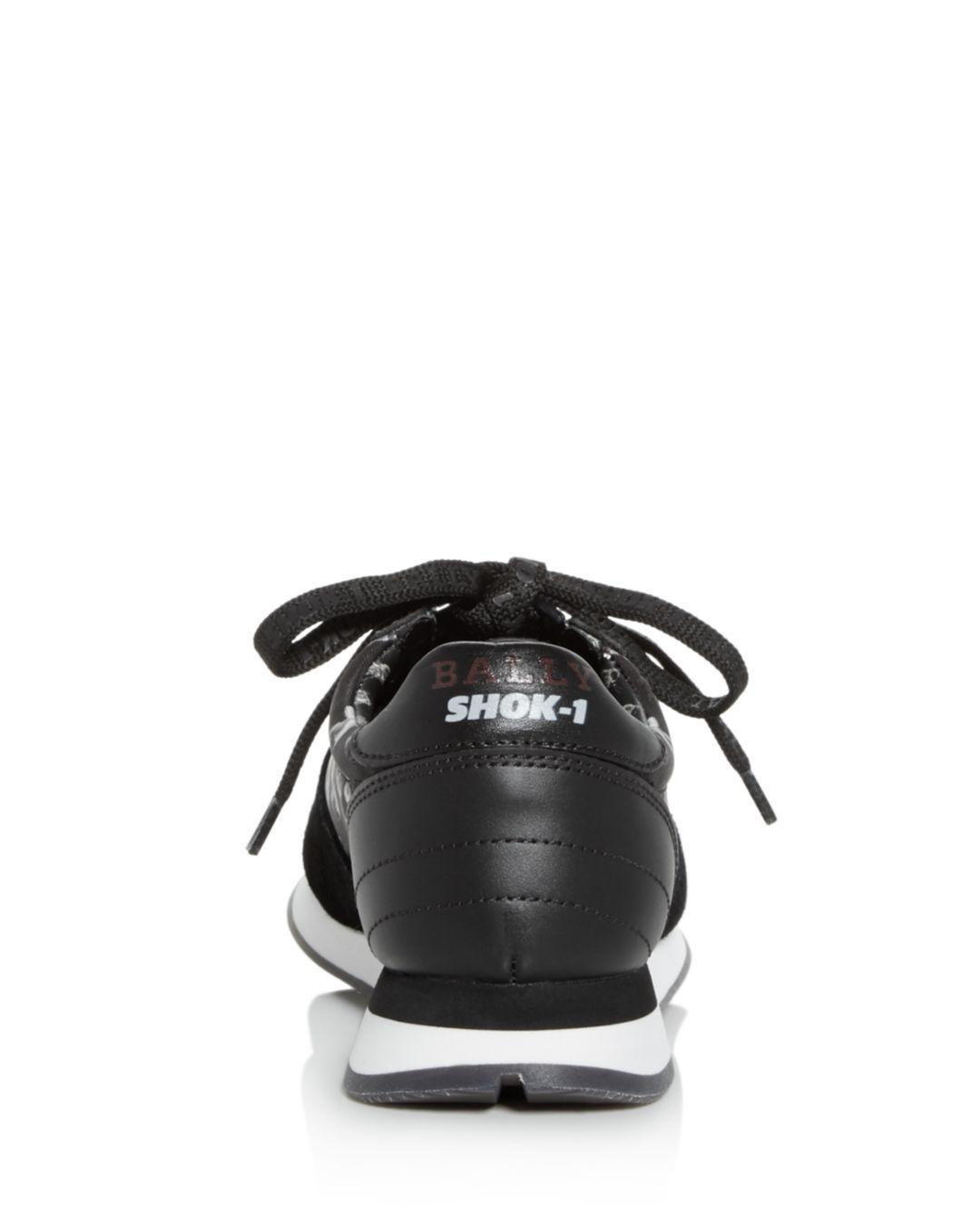 8281241bf75 Bally X Swizz Beatz Women s Gavino The Consumer Low-top Sneakers in Black -  Lyst