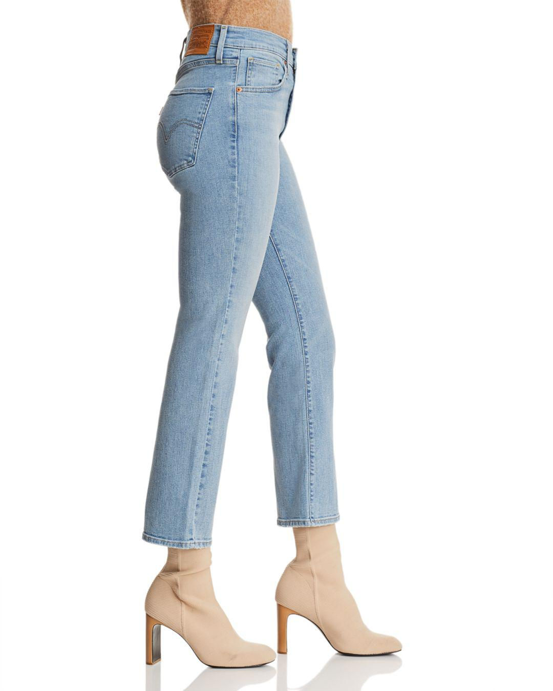Levi's In Game Blue Lyst The Crop To Jeans High Mile Flare Late 1SdqT