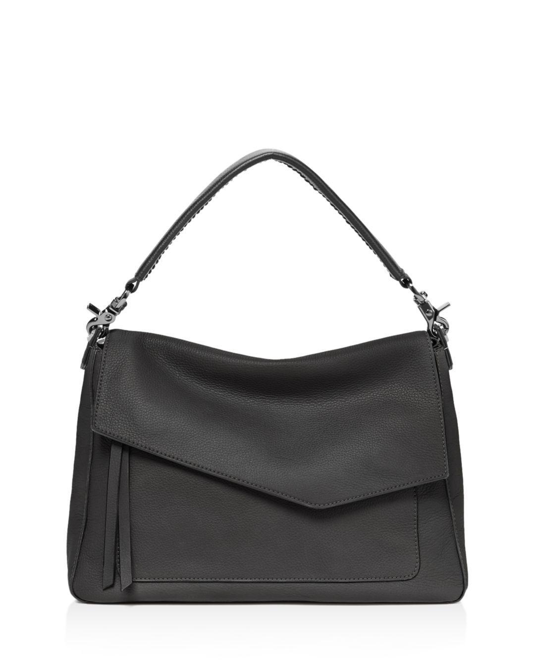 Lyst - Botkier Cobble Hill Medium Leather Hobo in Black d7d3d76c46b94