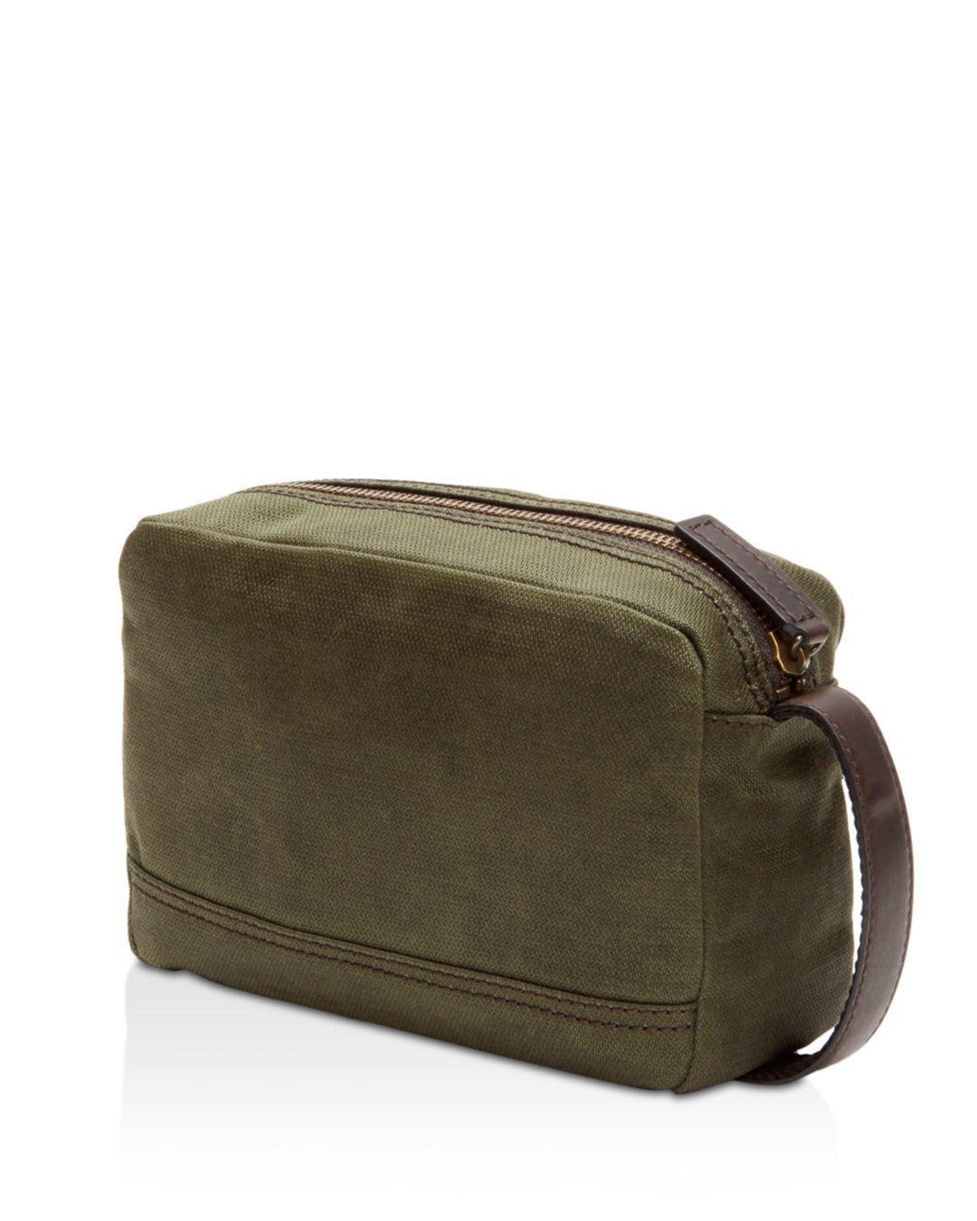 31e175ae5d Lyst - Frye Carter Slim Toiletry Bag in Green