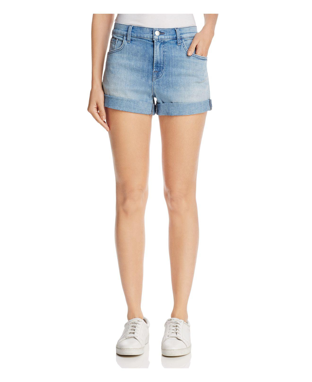 Womens Sun Gracie Denim Shorts J Brand q32OGG