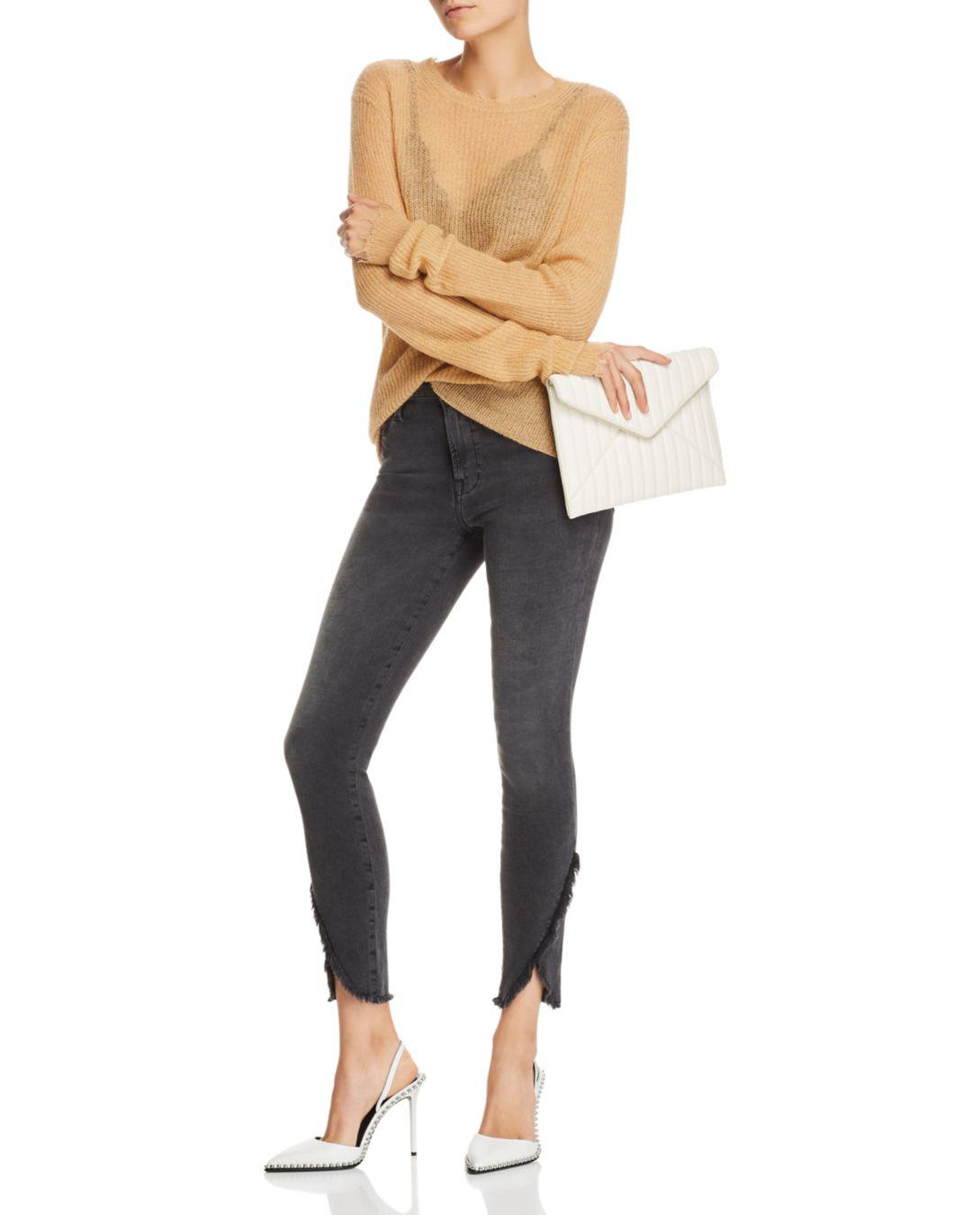 cf55113a7cb FRAME Le High Skinny Tulip-hem Jeans In Quinby - Lyst