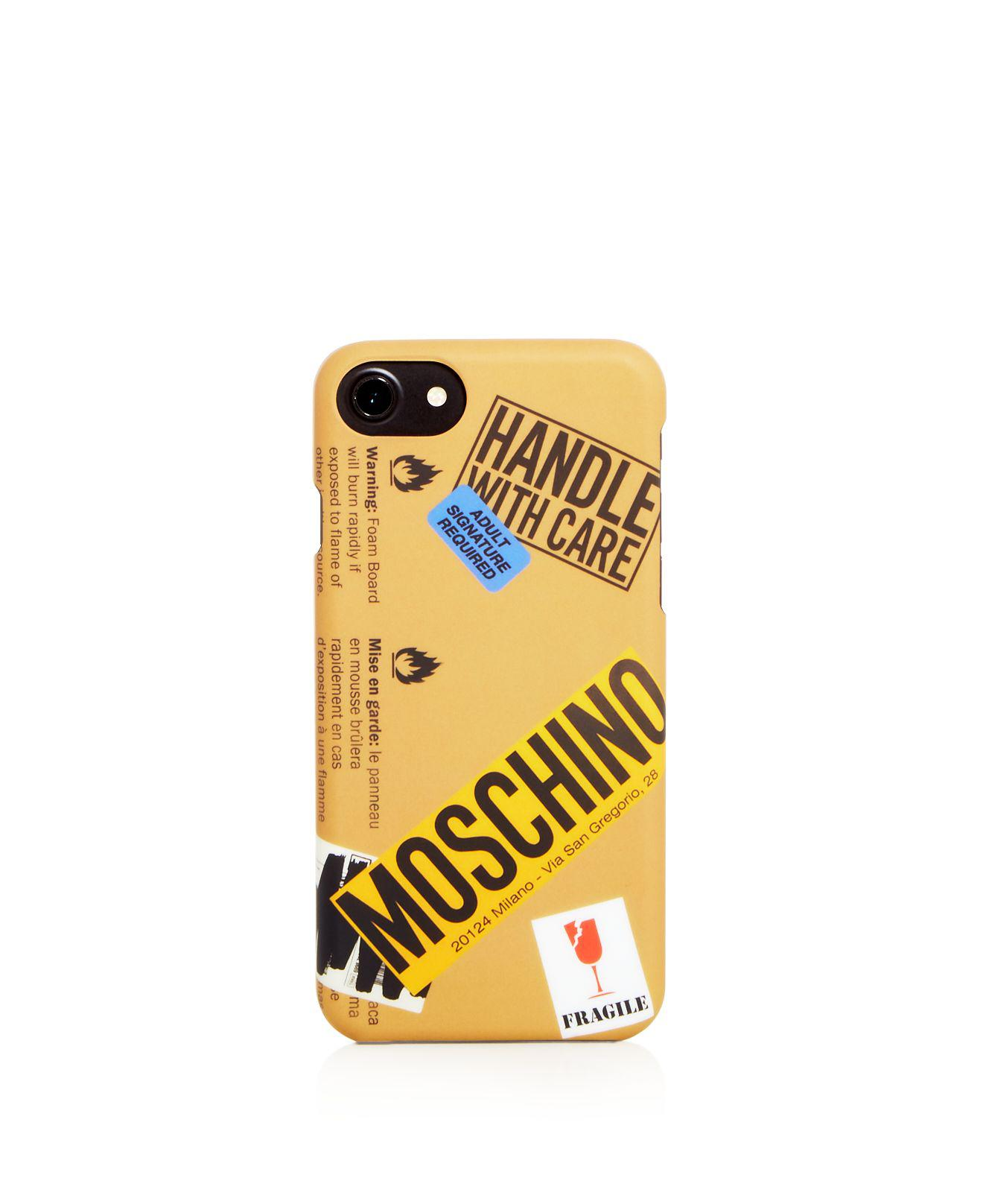 custodia iphone 8 moschino